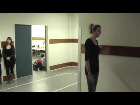 Catwalk Professor model training FACE OF HOLLAND