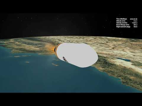 Delta IV Heavy NROL- 71 Mission Profile