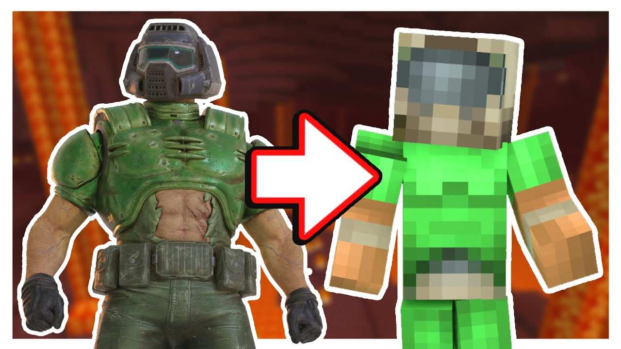 Can fantasize that you're playing doom, especially in the nether. Minecraft, But It's Doom Eternal - YouTube
