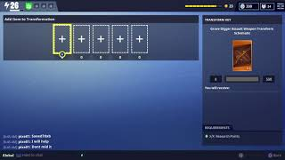 Fortnite (Save The World) Comment obtenir le creuseur de fosseurs légendaires!