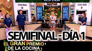 El gran premio de la cocina - Programa 19/10/21 - SEMIFINAL: DÍA 1