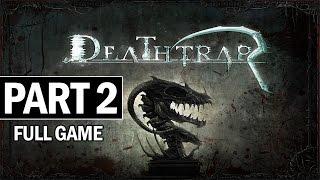 Deathtrap Walkthrough Part 2 Bottomless Pit - Full Game Let