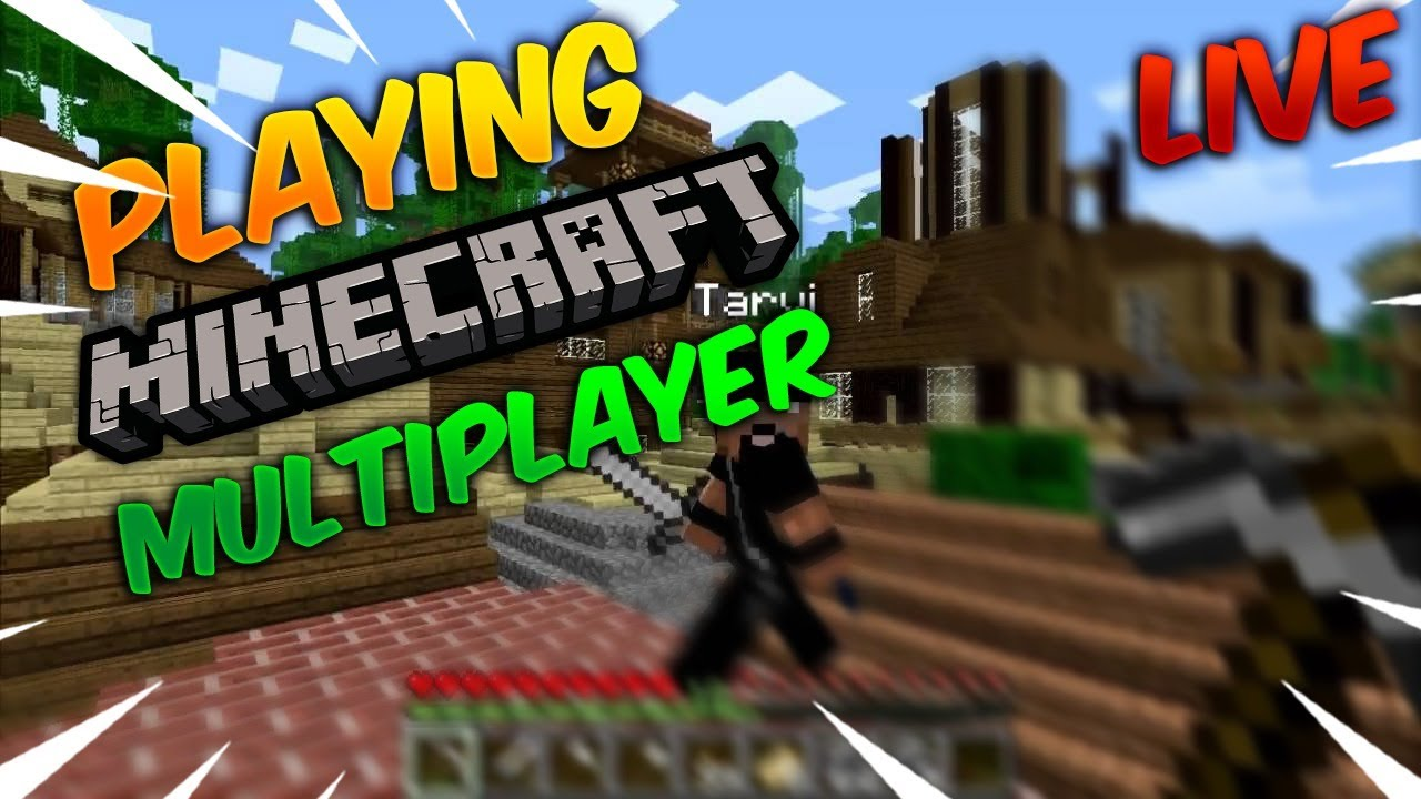 [Hindi] Playing Minecraft Live Multiplayer with SUBSCRIBERS! (Java)| Let's Play Together! | Creative