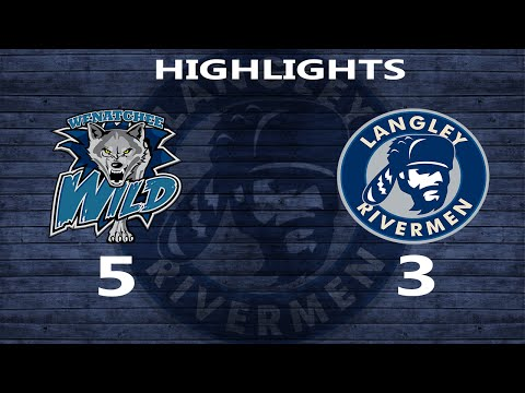 2015-09-20 Rivermen vs Wenatchee Wild: Highlights
