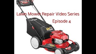 How To Replace Front Axle Cover on Troy Bilt Lawn Mower (Plastic Front End)