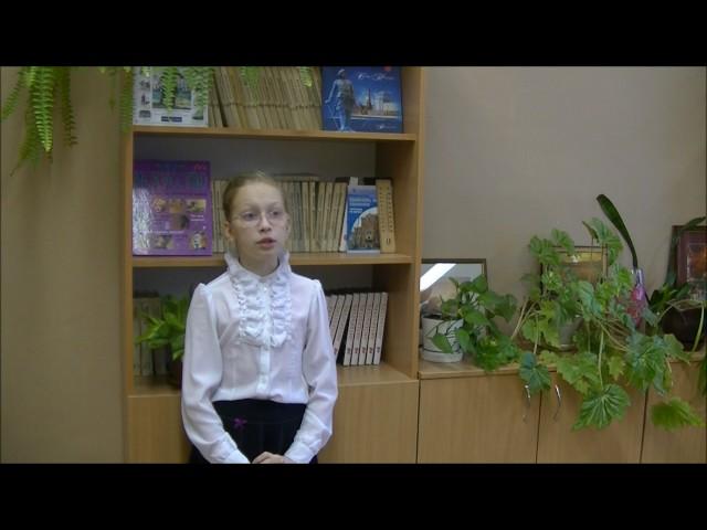 Изображение предпросмотра прочтения – ВарвараЩанная читает произведение «Ворона и Лисица» И.А.Крылова
