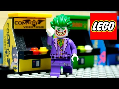 LEGO BATMAN ARCADE 3  -  VIDEO GAME MOVIE