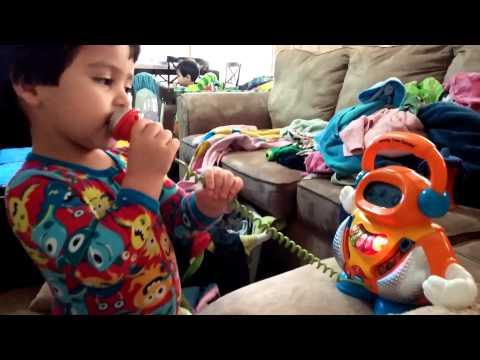 Everett on baby karaoke