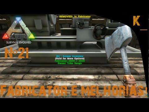 ARK Survival Evolved #21: Fabricator, nova armor e arma da ...