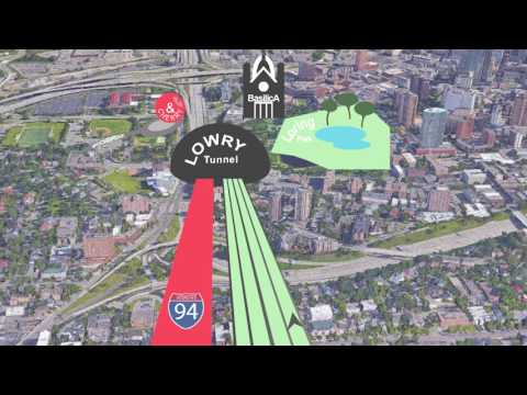 MnDOT | I-94 Lowry Tunnel construction