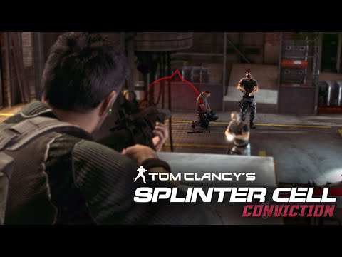 Splinter Cell Conviction - White Box Laboratories (Realistic, Aggressive Stealth)