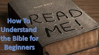 Understanding the Bible for Beginners | Biblical Allegory | Deeper Meaning | Biblical Metaphor