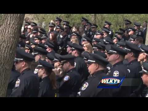 LMPD officers join Rodman family for graveside service