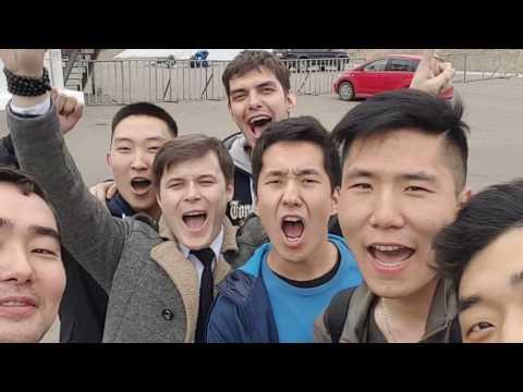 """""""Группа крови"""" - крутой флешмоб в Улан-Удэ"""