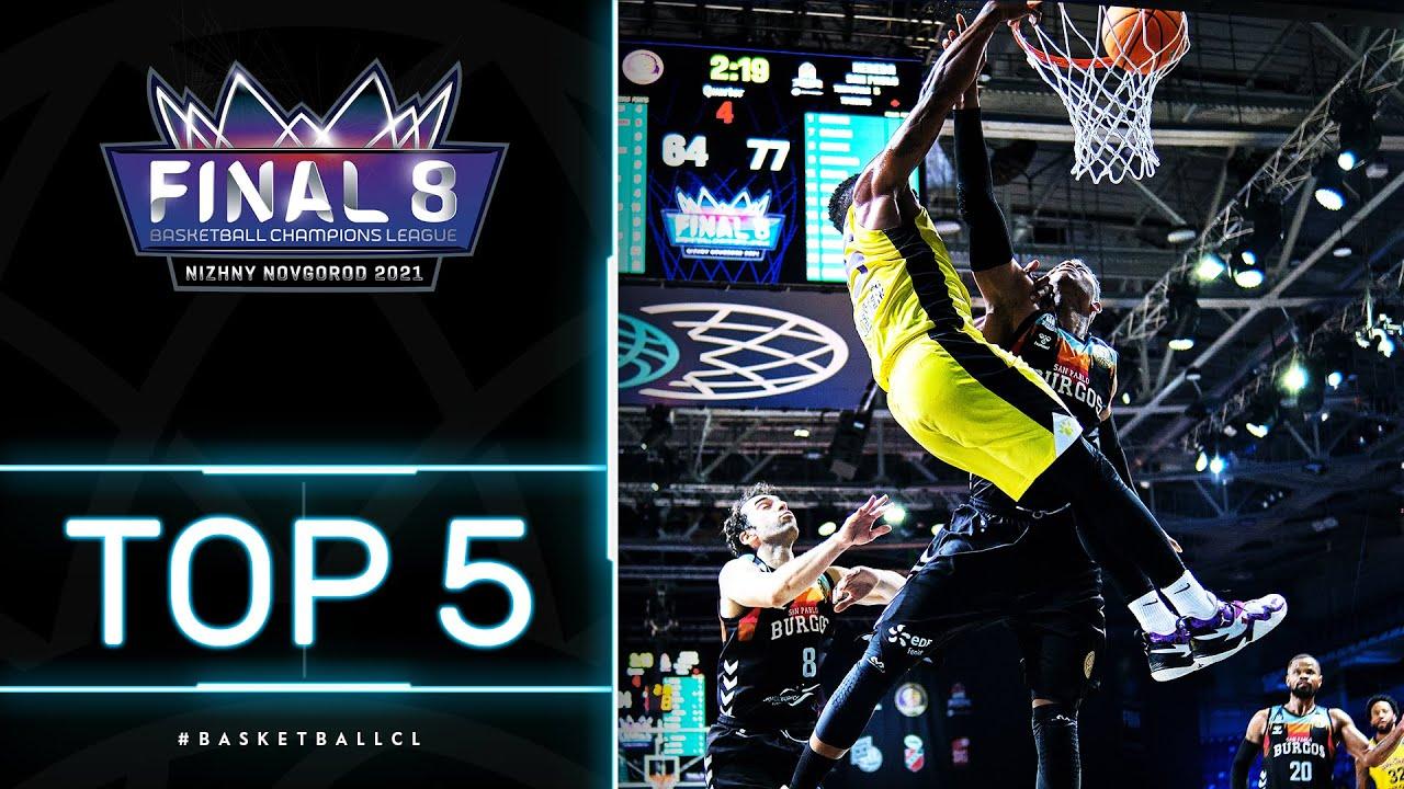 Top 5 Plays | Quarter-Finals | Basketball Champions League 2020/21