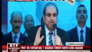 PROF DR HAYDAR BAŞ ANTALYA ELMALI MİTİNGİ KONUŞMASI TAMAMI