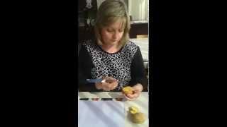 Рисование штампы картошкой
