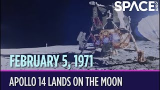 OTD in Space – February 5: Apollo 14 Lands on the Moon