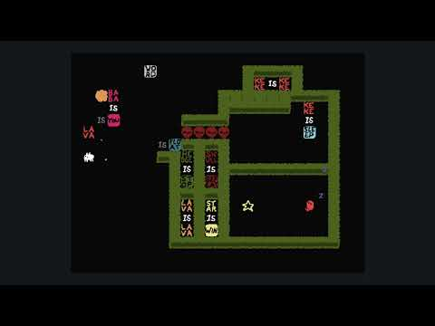 Baba Is you (Switch) - 38 Keke And The Star (Chasm E5)