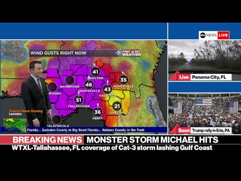 DJ Prostyle - Live Feed: Monstrous Hurricane Michael Barrels Toward Florida