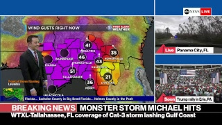 ABC News Hurricane Michael live coverage: landfall with 155 mph winds in Florida panhandle thumbnail