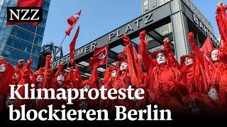 Extinction Rebellion: Klimaaktivisten blockieren Berlin
