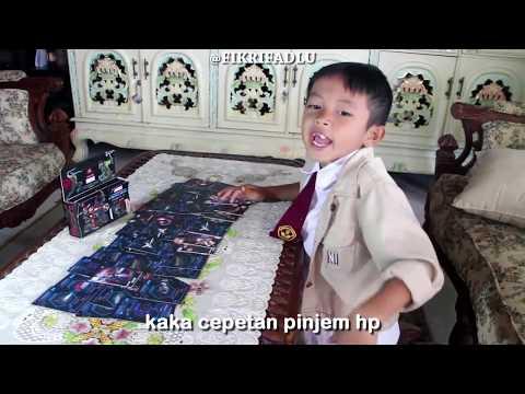 KIDS JAMAN NOW TERBARU || FIKRIFADLU & DIWAN  (5DX MARVEL)