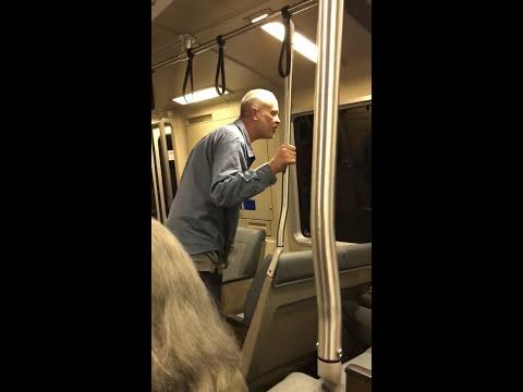 White Guy Using N-Word Hits Asian Man on San Francisco Subway