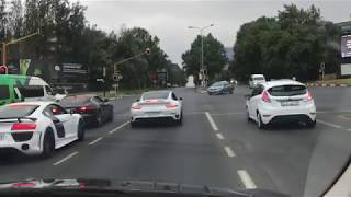 *Supercar* convoy to Cars, Coffee and Donuts 2.0-South Africa