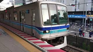 東京メトロ東西線05系021編成 快速中野行き 西船橋駅発車