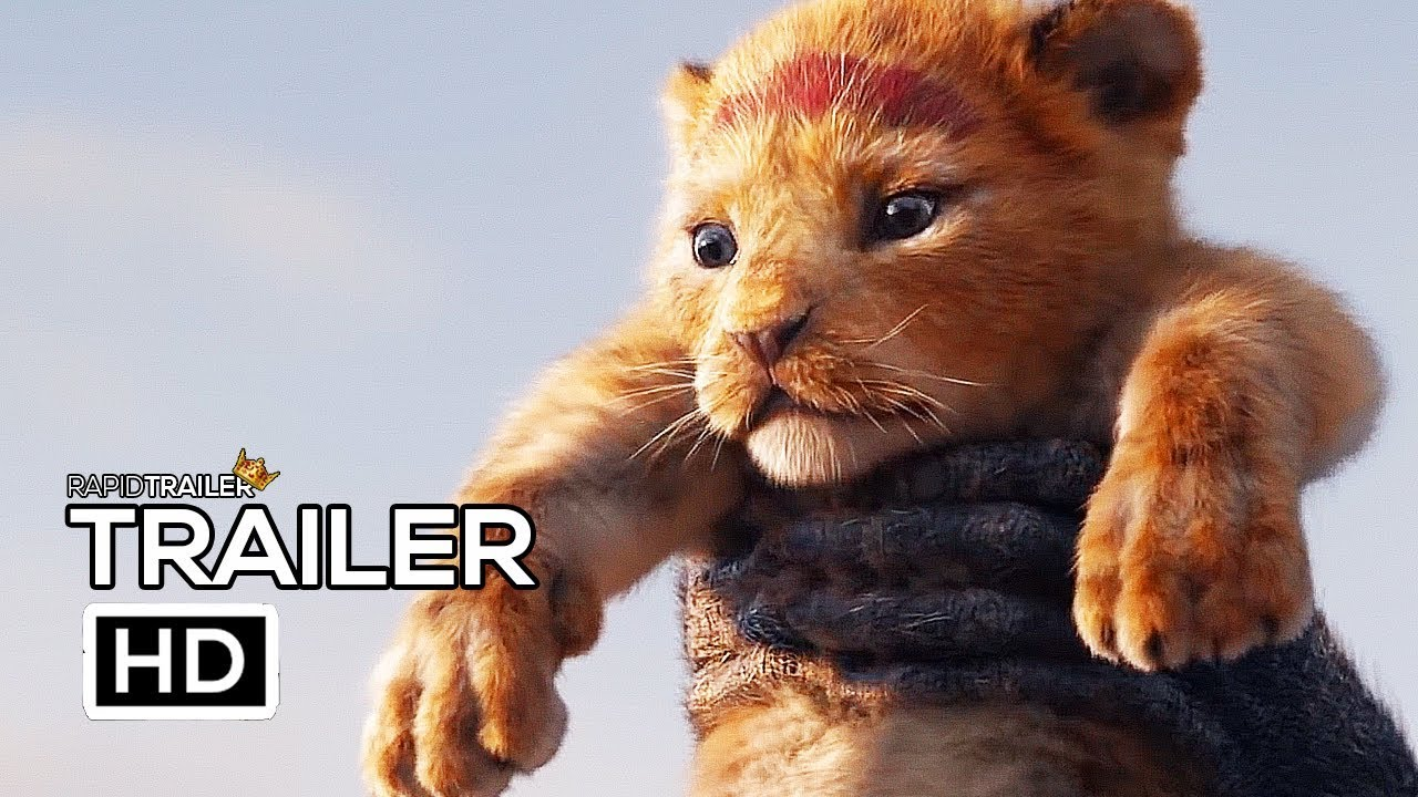 The Lion King Official Trailer 2019 Disney Live Action Movie Hd