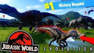 INDORAPTOR модом проти 72 INDOMINUS Рекс! Битва Динозаврів Рояль! (Світ Юрського Періоду Еволюція Гри)
