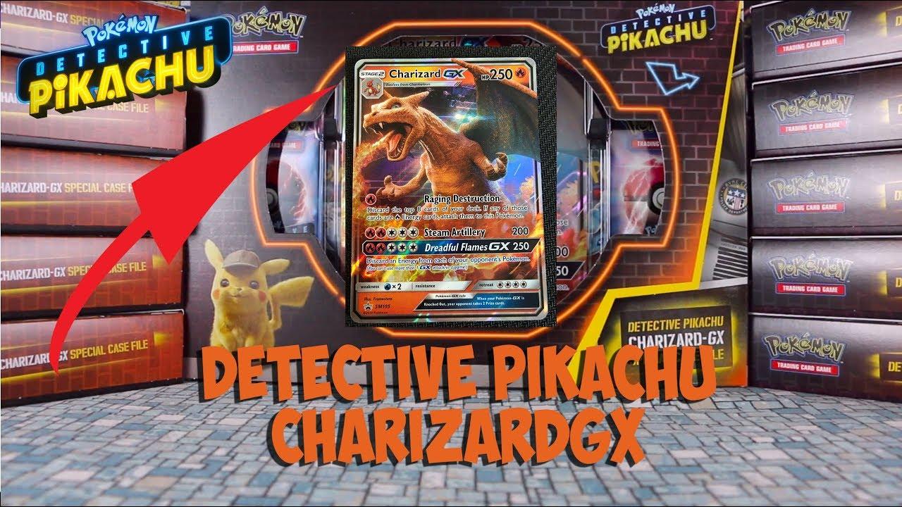Pokemon Detective Pikachu Charizard Gx Case File Metal Detective