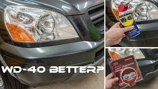 WD40 VS 3M | Best Headlight Restoration Method?