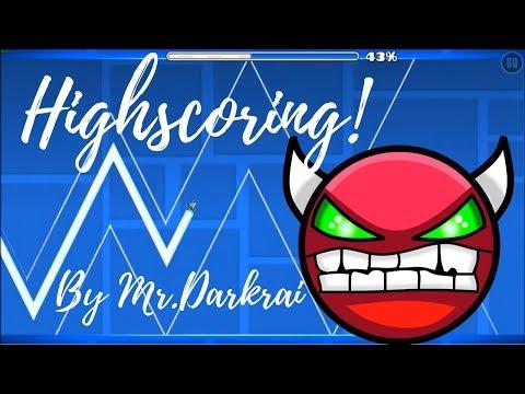 I'm Verifying a Hard Demon! | Highscoring Layout by Mr.Darkrai! (NoClip and Cuts)