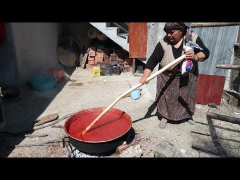 Domates salçası nasıl yapılır