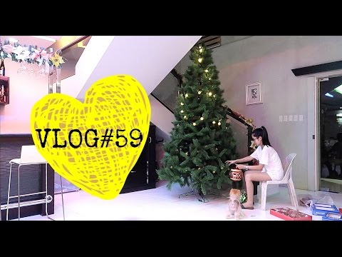 VLOG#59: Putting Up The Christmas Tree & Quick Trip to Mindoro | Anna Cay ♥
