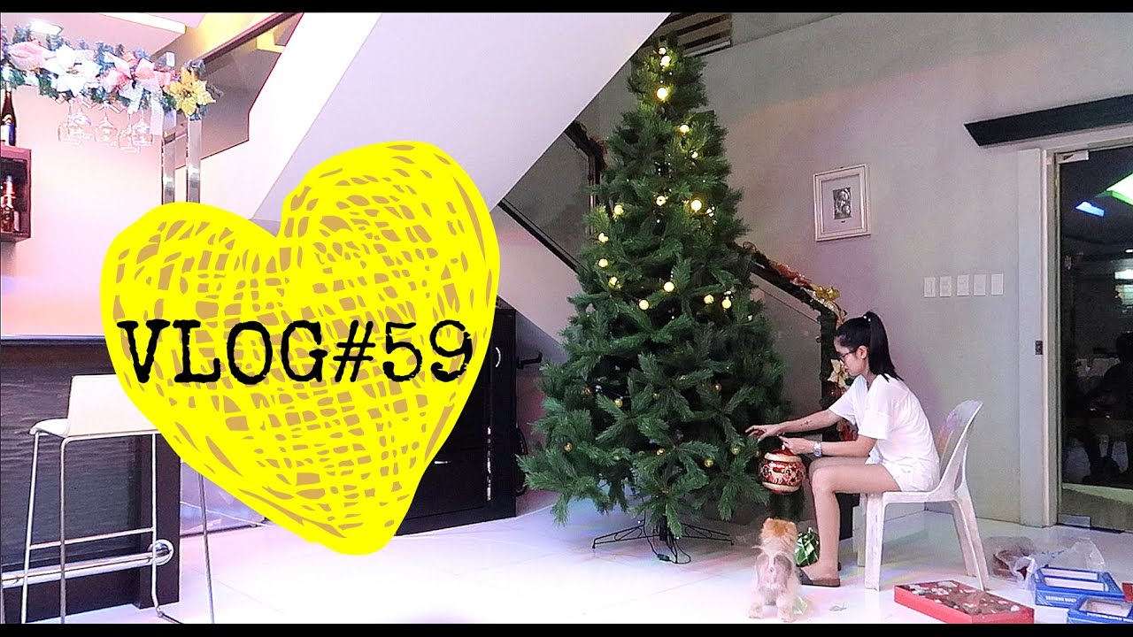 VLOG#59: Putting Up The Christmas Tree & Quick Trip to Mindoro ...
