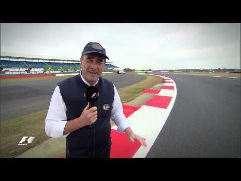 Nigel Mansell's Key Corners at Silverstone