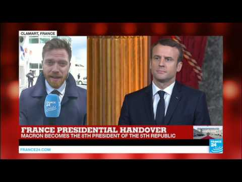 France: Emmanuel Macron visits wounded soldiers at the Percy Clamart Military Hospital