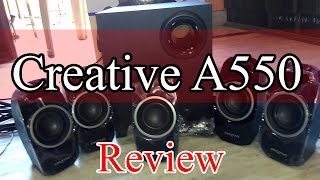 [Hindi] Review of creative A550 5.1 Speakers and steps to set up your Creative speakers...