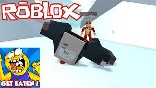 ROBLOX - Die letzten Levels sind abgeschlossen - GET EATEN!