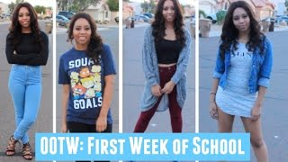 OOTW: First Week of School 2016! Back to School Outfit Ideas