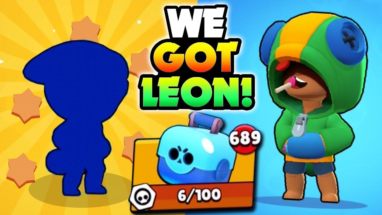 Opening New Legendary Leon Huge Brawl Box Opening Brawl Stars New Mega Boxes Update Gameplay