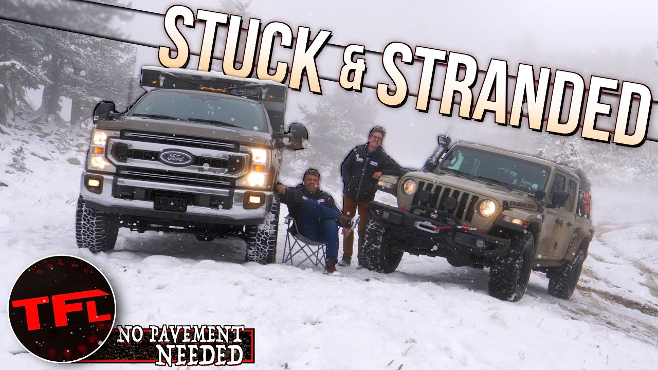 Christmas Is Here Early! We Off-Road Our Trucks In The Mud & Snow! No Pavement Needed Ep.6