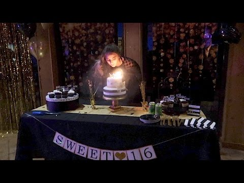 MY SWEET 16 PARTY