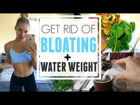 How To Reduce Bloating | Water Weight + Sodium | What I Eat