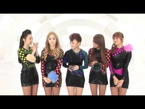 Ec B  Eb D  Ea B B Ec A A Wonder Girls Interview While Filming For Be My Baby Mv Wonder World