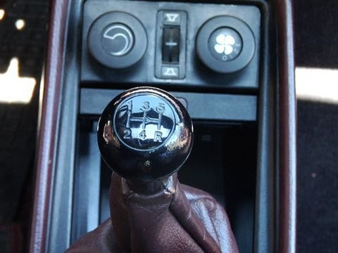 How to Drive a Stick Shift