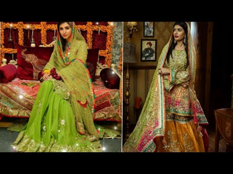 Latest mehndi dupatta/outfit designs|The Style Gorgeous